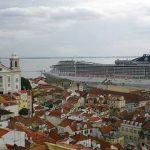 Mirador das Portas do Sol en Lisboa