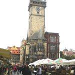 Vista desde la Plaza Vieja del Torre de la Reloj Astronómico
