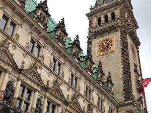 Ayuntamiento de Hamburgo en Alemania