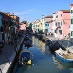 Canales de Venecia en Murano