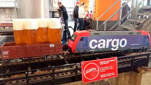 Cervecería de Praga vytopna
