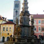 Columna de la Peste y Torre Iglesia de San Jaime