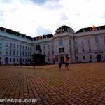 Palacio imperial de Hofburg en Austria